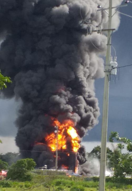 Estructura 10 Martín Villa de las Farc, serían los responsables de haberle prendido fuego a una plataforma de hidrocarburos en Arauquita