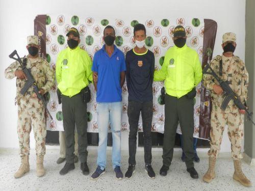 Envían a la cárcel a los dos presuntas fichas del ELN capturadas en Cesar y Guajira la semana pasada