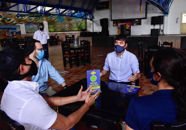 Solo dos horas podrán permanecer en restaurantes los comensales, consumo de licor sí, pero responsable. Bares aún no están autorizados para operar en Barranquilla