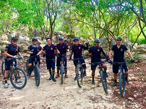 C.R.A, Policía y ciclistas se unen por un deporte seguro