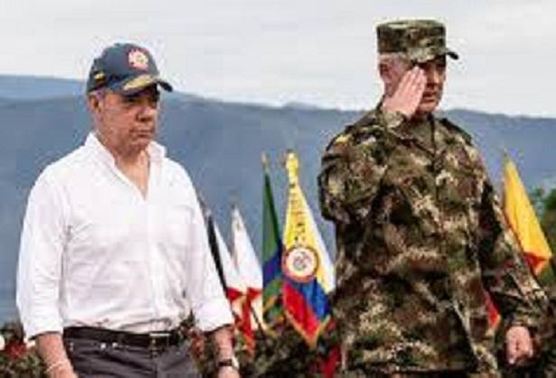Reservas Militares y de Policía exigen que se les abra investigación por Traición a la Patría a Juan Manuel Santos y al general en retiro Alberto Mejía Ferrero, por querer debilitar a las FFMM