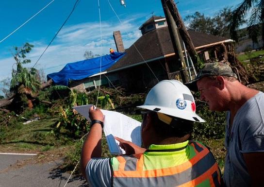 A diez se eleva la cifra de muertos en Louisina por causa del huracán Laura. 23 sitios católicos arrasados. 800 mil hogares sin energía eléctrica