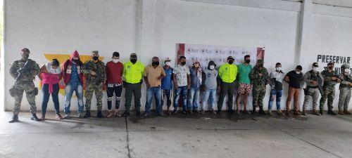 Capturan a 11 del Clan del Golfo en el sur de Bolívar, tras una ofensiva de la Fuerza Pública en esa región