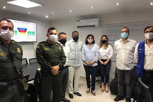 AMB, Gobernación y municipios de Galapa, Malambo y Puerto Colombia firman convenio con el que buscan fortalecer convivencia ciudadana