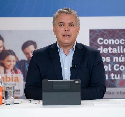 Duque respaldó la versión virtual del Festival de la Leyenda Vallenata de Valledupar