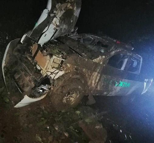 6 uniformados de la Policía heridos en atentado terrorista contra una patrulla en San José del Guaviare