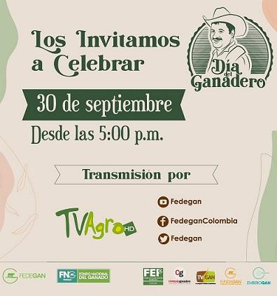 Ganaderos celebran su día hoy 30 de septiembre, aquí la programación que será transmitida a través de TV Agro