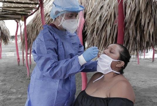 En todos los municipios y corregimientos del Atlántico continúa la toma de muestras de Covid-19 para frenar el virus, aseguró Elsa Noguera