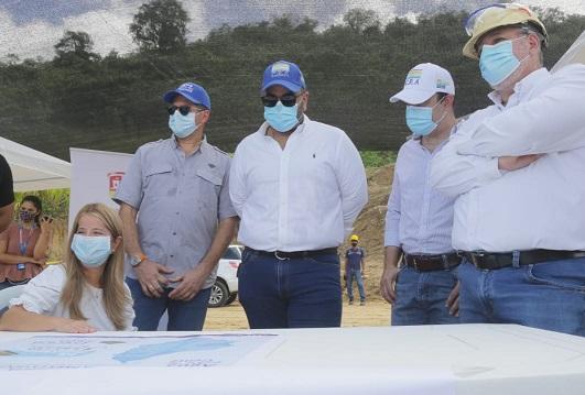 C.R.A y Gobernación del Atlántico inspeccionaron la construcción de PTAR en Piojó