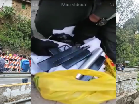 Denuncian proliferación de venezolanos en la vía Cúcuta Bogotá, y otras rutas, al parecer con destino a la minga indígena