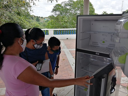 Usiacurí se suma al cambio de la energía eficiente y a la sustitución de neveras, luego de llegar al municipio de Soledad