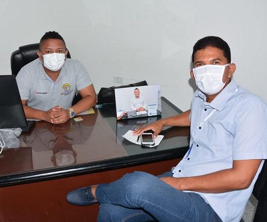 Nuevo gerente de la E.S.E hospital del municipio de Luruaco, enfocado en contrarrestar la expansión del Covid-19 con actividades preventivas