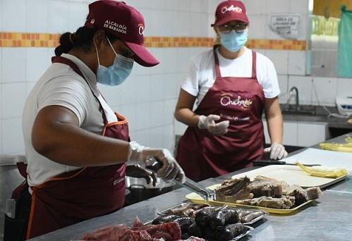 Festival del Chicharrón de Sazón Atlántico, vendió una tonelada de cerdo este fin de semana