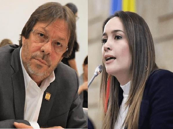 Los parlamentarios promotores del 50/50 en las listas en el Código Electoral, fueron un hombre y una mujer. No fueron Angélica Lozano y Claudia López, quedan desmentidas