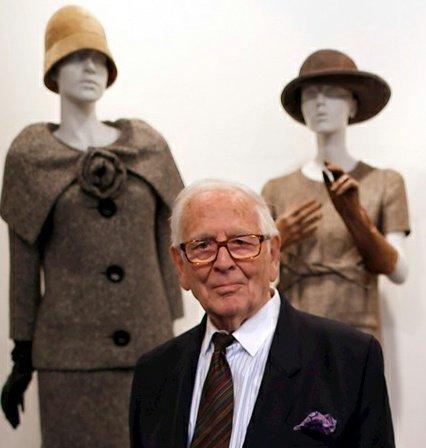 Muere famoso modisto Pierre Cardin a los 98 años, fue uno de los pioneros en el pret-a-porter