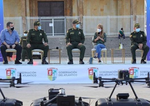 Administración Departamental dice que fortalece la capacidad operativa de la Policía para garantizar la seguridad de los atlanticenses