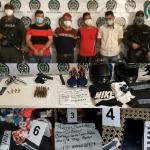 Juez 19 penal municipal, legalizó la captura de los tres venezolanos y un colombiano capturados por el atentado en el centro de Barranquilla