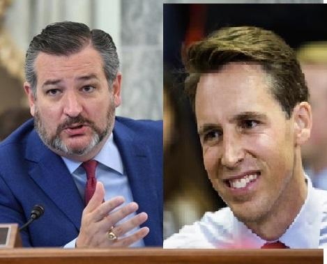 Senadores republicanos son atacados por la izquierda demócrata ante el anuncio de su derecho a objetar los votos electorales a raíz de las denuncias de fraude electoral