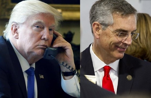 Llamada del Presidente Trump solicitando al Secretario de Estado de Georgia, investigar el fraude electoral, habría sido grabada ilegalmente. Utilizan el audio para atacar al mandatario