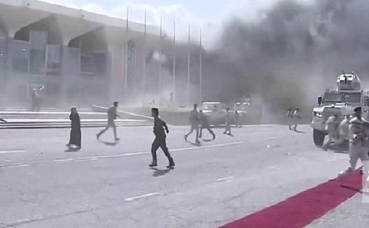 Atentado en el aeropuerto contra el nuevo Gobierno de Yemen dejó 26 muertos y cerca de 60 heridos. Sin embargo logró posesionarse en medio de tres ataques terroristas