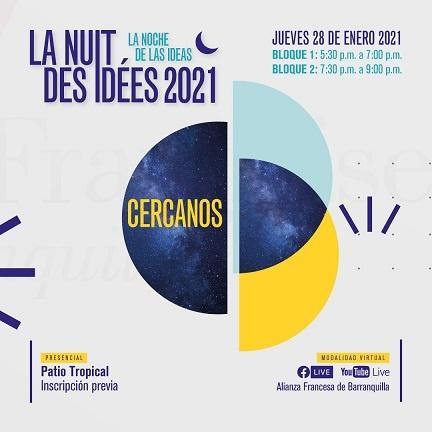 Unisimón en evento internacional Noche de Ideas 2021 que se desarrolla simultáneamente en 100 países