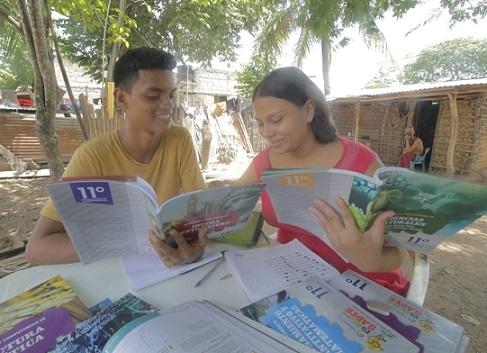 Este lunes reinició el calendario académico con guías educativas y virtualidad en colegios públicos del Cesar